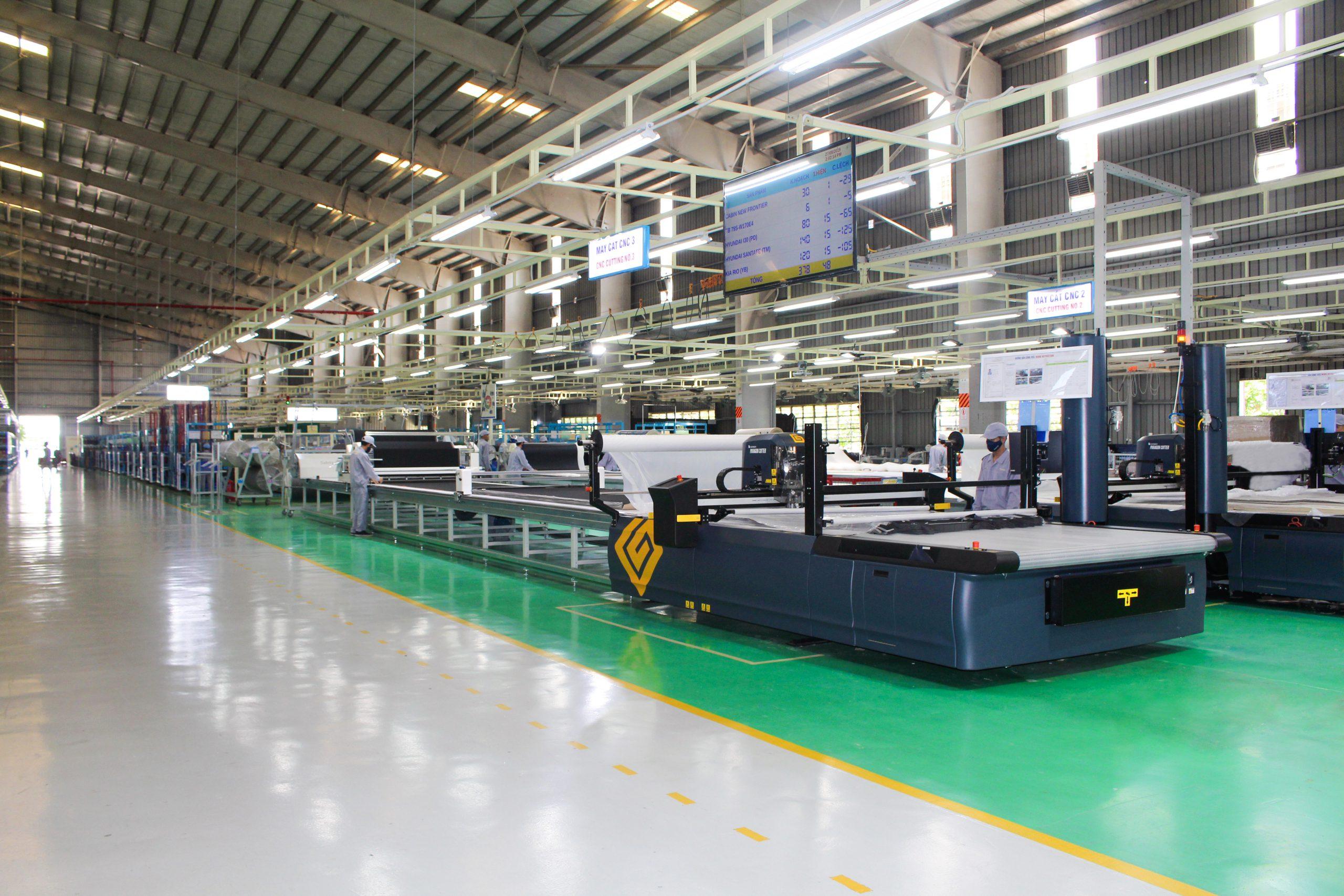 Hình ảnh hoạt động nhà máy AUTOCOM